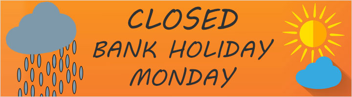 Image result for closed bank holiday monday