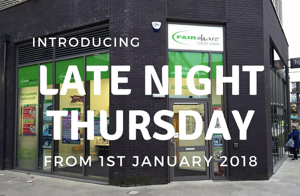 Introducing Late Nigh Thursday in 2018