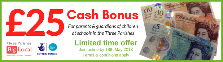 Great offer for 3PBL parents