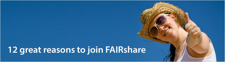 12 great reasons to join FAIRshare