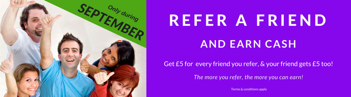 Refer a Friend to join FAIRshare and earn cash during September