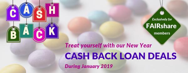 New Year Cash Back Loan Deals